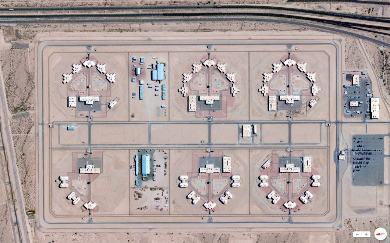 Arizona State Prison Complex - Lewis Buckeye, Arizona 33.2094°N 112.653°W