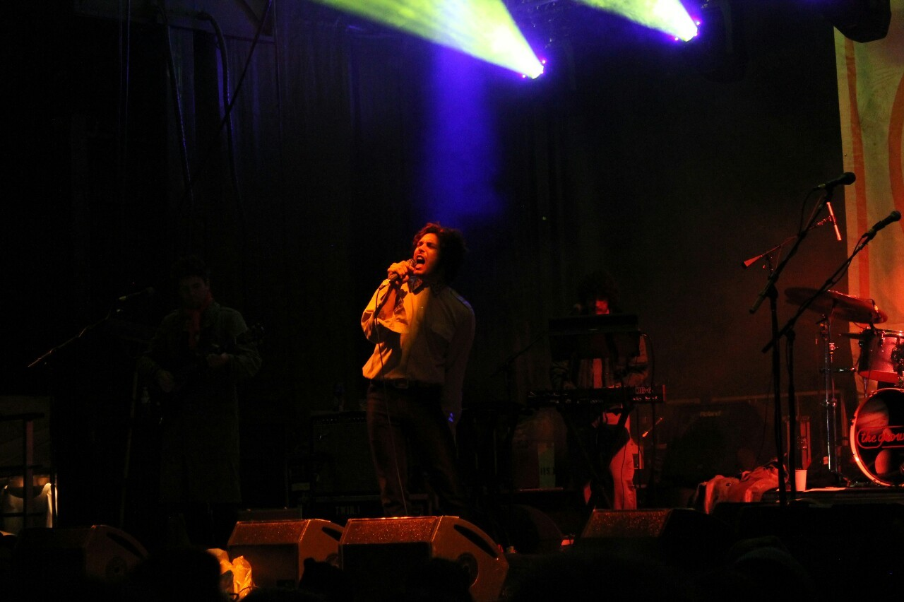 The Growlers taking the stage Friday night.