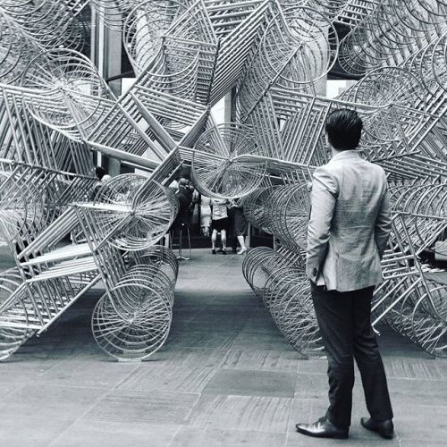 tumblr_ob0vdlPIgy1qfc4xho3_500 Ai Wei Wei, Forever Bicycles, 2011 Contemporary