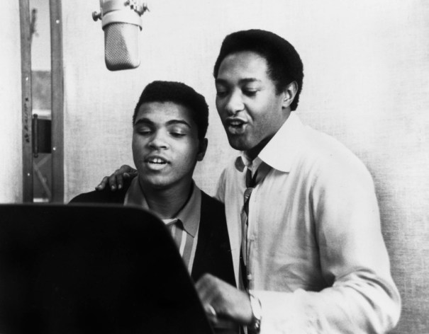 Muhammad Ali And Sam Cooke Recording The Sin Rb