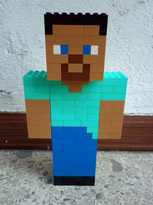 Legosaurus Lego Minecraft Characters Created By Meufer