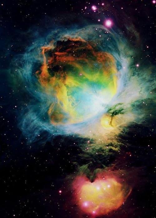 colorful nebula Tumblr