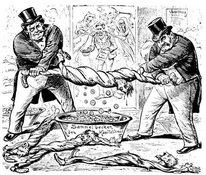 Mostratemi un capitalista, vi mostrerò una sanguisuga. Malcolm X (vento ribelle)