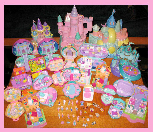 Photos and Quotes Polly Pocket In the 1980 s boys had Micro Machines to engage them in  playing with tiny toys  so it was only right that girls got their turn with  Polly