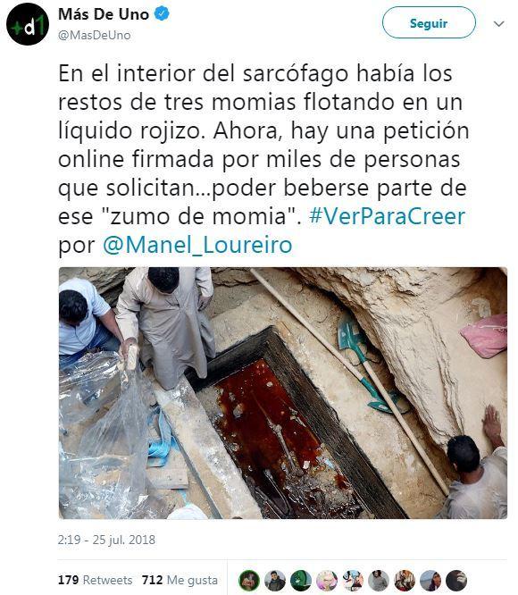 Zumo de momia