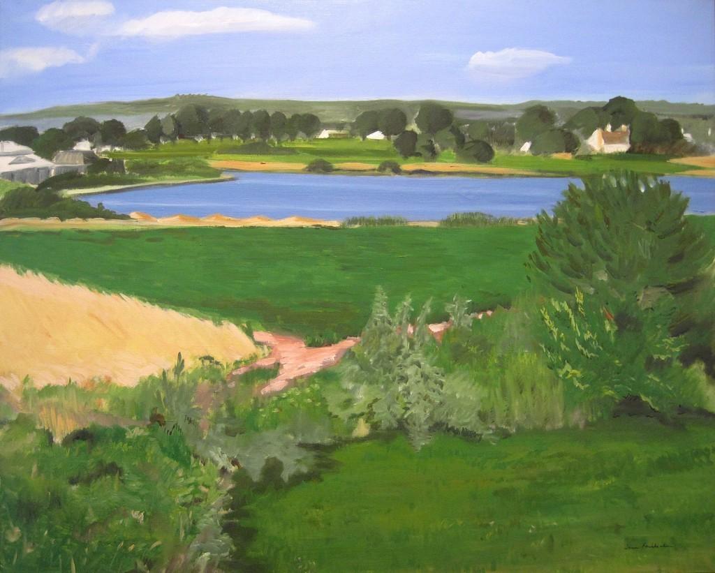 "thunderstruck9:""Jane Freilicher (American, 1924-2014), Bright Day, 1973. Oil on canvas, 32 x 40 in."""