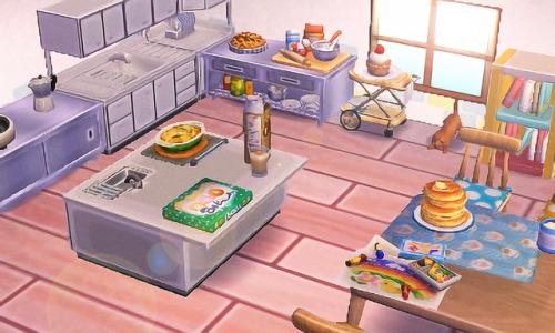 acnl kitchens   Tumblr on Animal Crossing Kitchen Ideas  id=78795