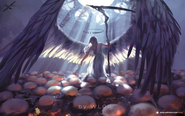 Art by wlop – Fantasy
