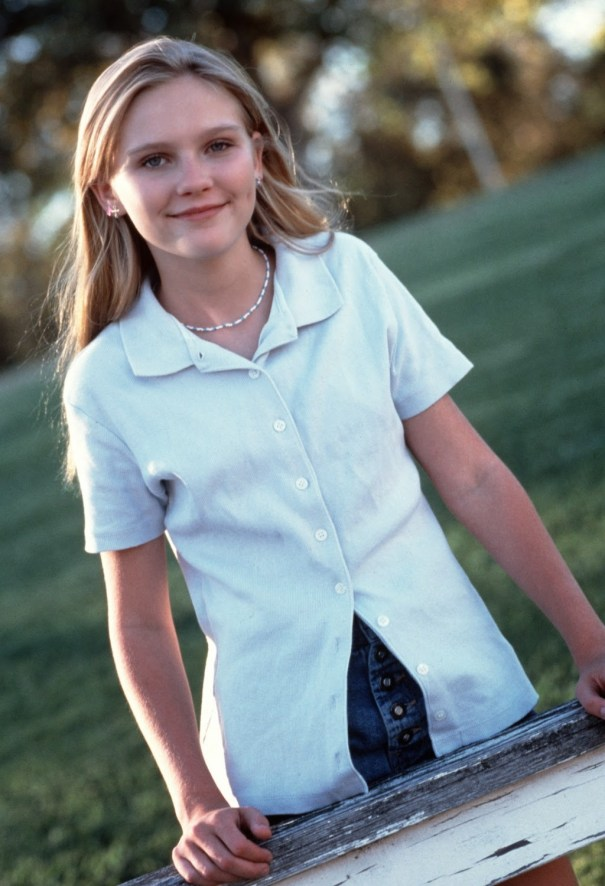 1d513f90021be4 Beautiful Kirsten Dunst as a teenager in 1995. – History