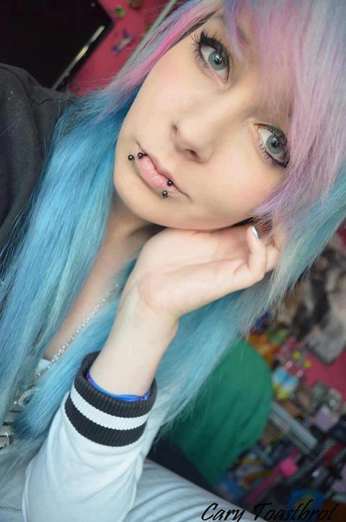 Baby Blue Hair On Tumblr