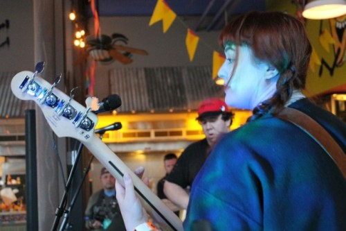 VCR killing their set at the Boise All-Ages Movement Project Pop-Up Venue!-lazharus