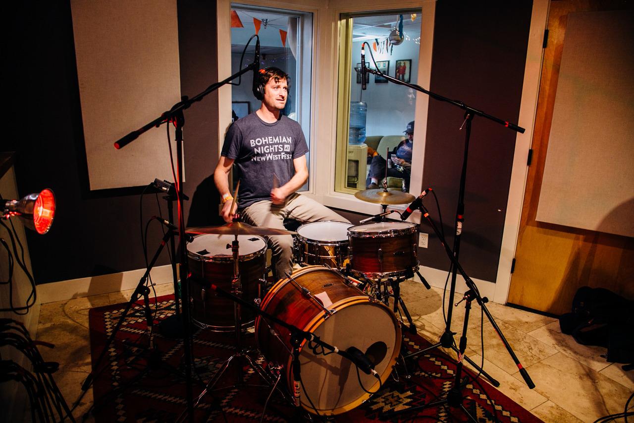 Porolo, live at the Radio Boise studios. AS