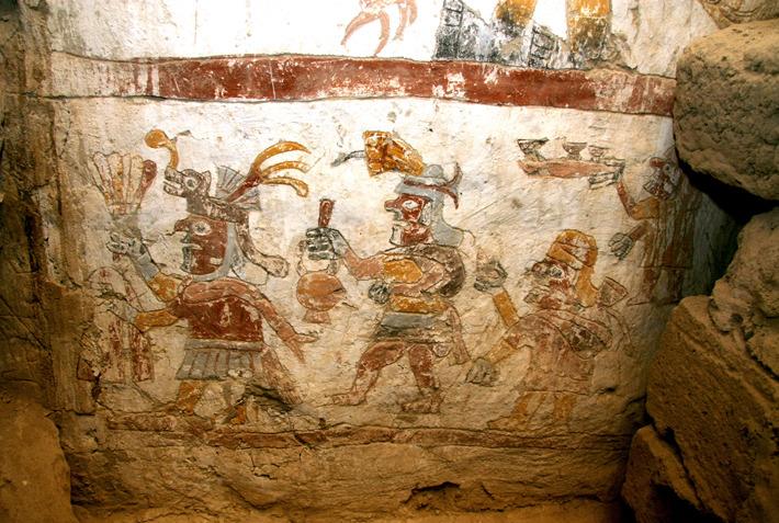 Moche pottery homosexual advance