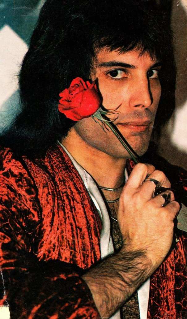 Freddie Mercury, 1974, by Joseph Stevens – Rock