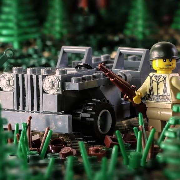 US Army Jeep #brickmania #ww2 #wwii #history #… – Lego