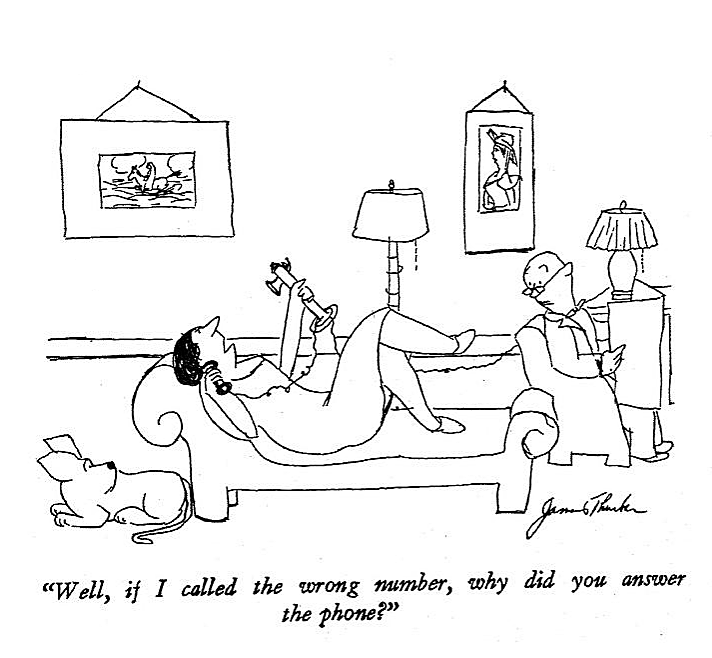 Men Women And Dogs A Book Of Drawings James Thurber 1944