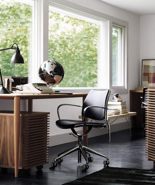 tumblr_ott0bxHFnL1qfx0suo1_500 stua:  The perfect chair for the home office: STUA Gas task... Contemporary