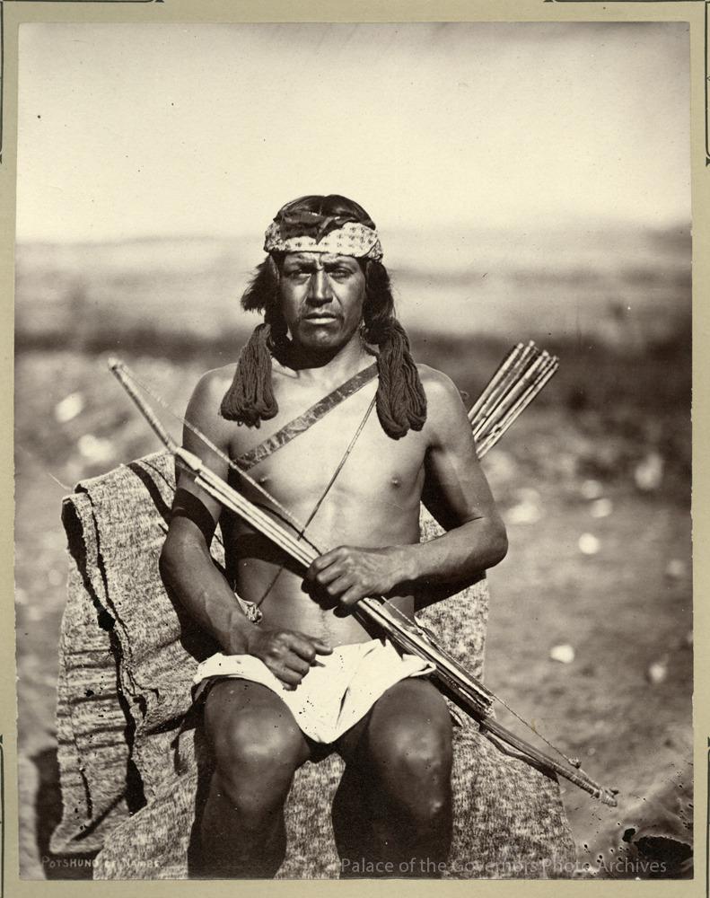 pogphotoarchives:Jose Antonio Vigil (Potshuno), Nambe Pueblo…