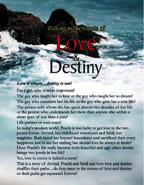 Walking in the Streets of Love and Destiny Blurb