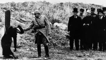 38fd320c56eab The execution of accused spy Mata Hari