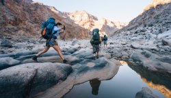 There is surprisingly little research on the physical mechanics of backpacking. Good reading over at Outside Online.