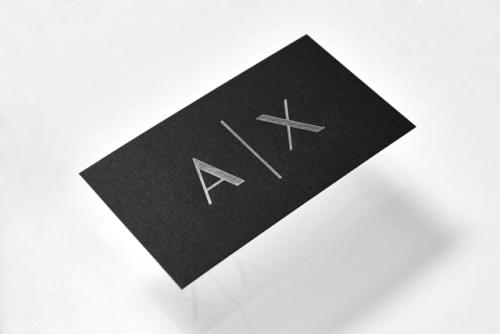 "tumblr_ozjyb6MnCZ1r5vojso6_500 Brand Identity forArmani Exchange by Anagrama""In collaboration... Design"