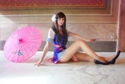 [Overwatch] D.Va Cheongsam Cosplay by Unapersonasenzanick  Check out http://hotcosplaychicks.tumblr.com for more awesome cosplaySponsored: Get $3 off a GeekFuel monthly box on us! http://hotcosplaychicks.tumblr.com/geekfuel