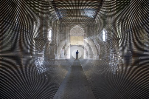 tumblr_mt2c9lnsgD1qfc4xho3_r1_500 Zilvinas Kempinas artist from Lithuania, Tube, 2008 in Venice... Contemporary