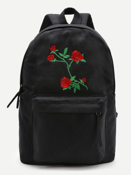 Rose Backpack Tumblr