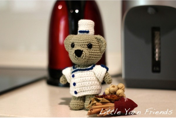 Little Yarn Friends • Ferrandi Pastry School Teddy Lil ...