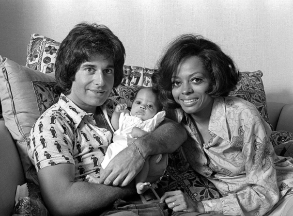 Diana Ross At Home With Husband Music Exe Rb