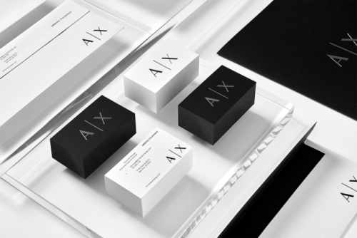 "tumblr_ozjyb6MnCZ1r5vojso5_500 Brand Identity forArmani Exchange by Anagrama""In collaboration... Design"