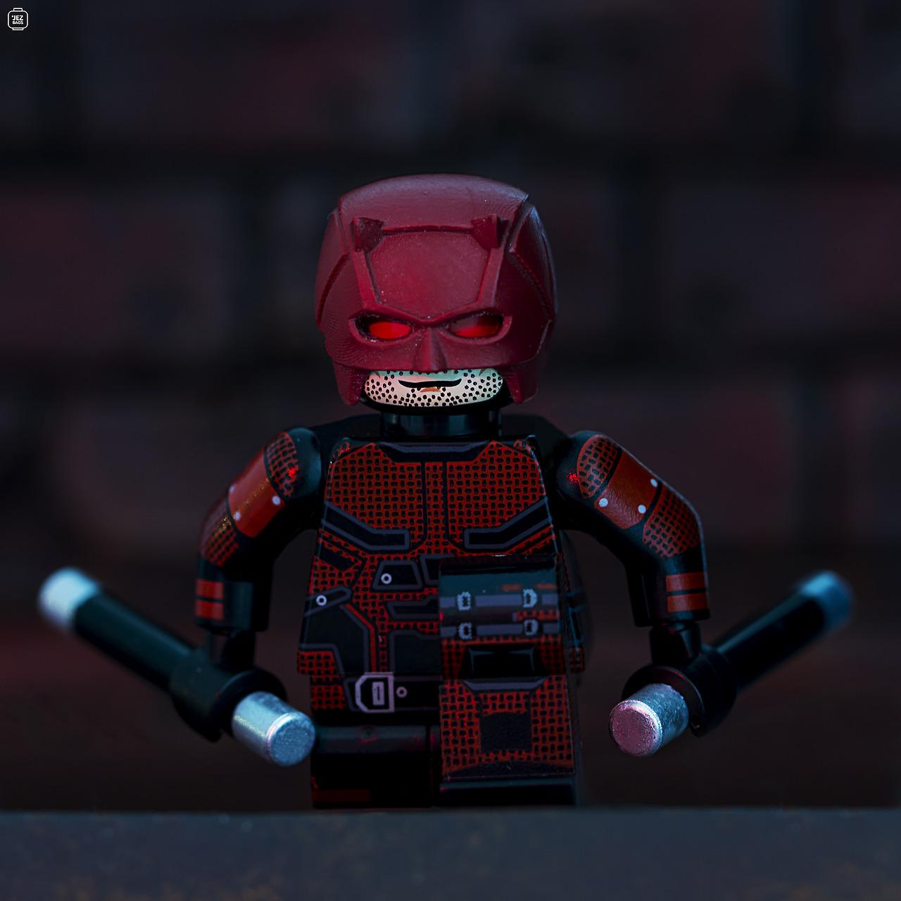 Legosaurus Lego Marvel Defenders Daredevil Image By
