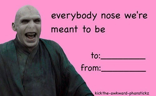 harry potter valentines day cards | Tumblr