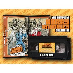 VNR0005: The Complete Harry Knuckles Collection (1998-2004) Limited Edition 2-tape #VHS Set now on sale!Get yours today at http://store.videonomicon.com today! #Videonomicon #VHSCU