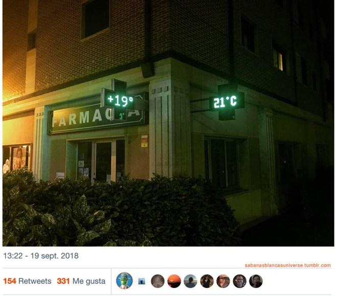 Plegando el espacio-tiempo en una farmacia de Oviedo