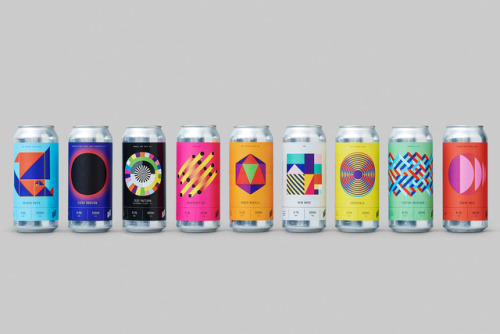 """tumblr_p2gajza2dS1r5vojso9_500 Packaging Design for Halo Brewery by way of Underline Studio""""Halo is an... Design"""