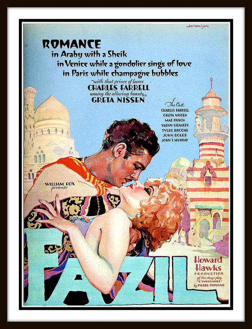 Fazil (1928), a silent film produced and directed by Howard Hawks.