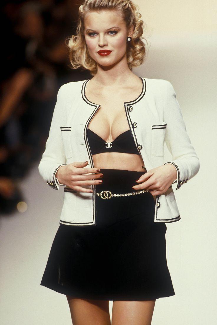 Ana Maria Polvorosa Hot lelaid: eva herzigova at chanel s/s 1995 – supermodels