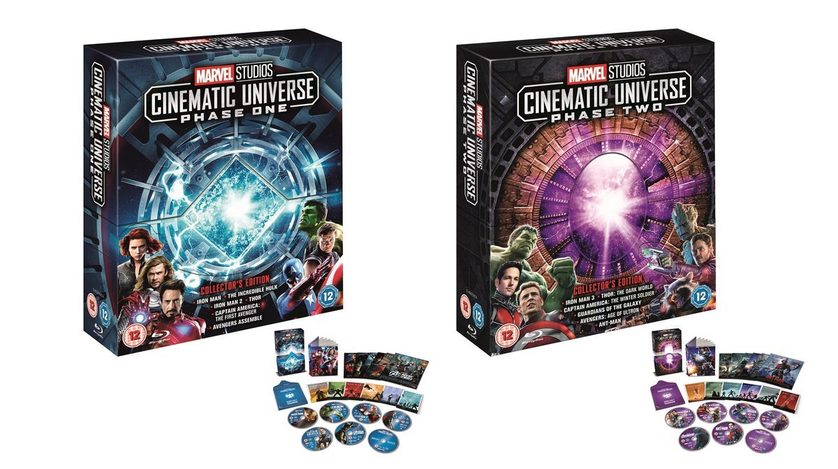 Phase One And Phase Two Collectors Edition Box Sets