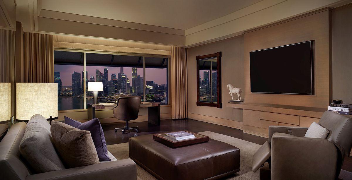 The Ritz Carlton Millenia Singapore Designed By