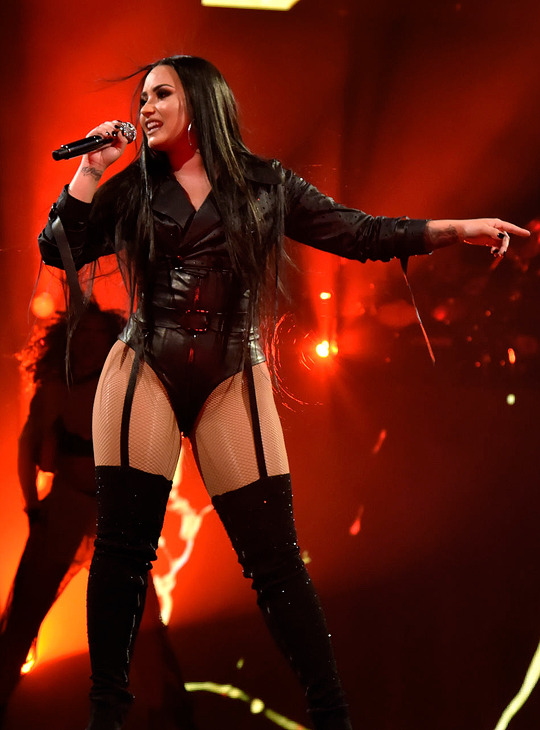 """Demi Lovato performing at the Tell Me You Love Me Tour in San Diego, CA 