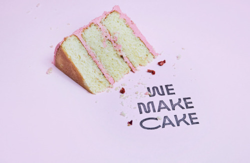 """tumblr_p2n0vyuqDY1r5vojso6_500 Emblem Id for We Make Cake by way of Saul Studio""""We Make Cake are... Design"""