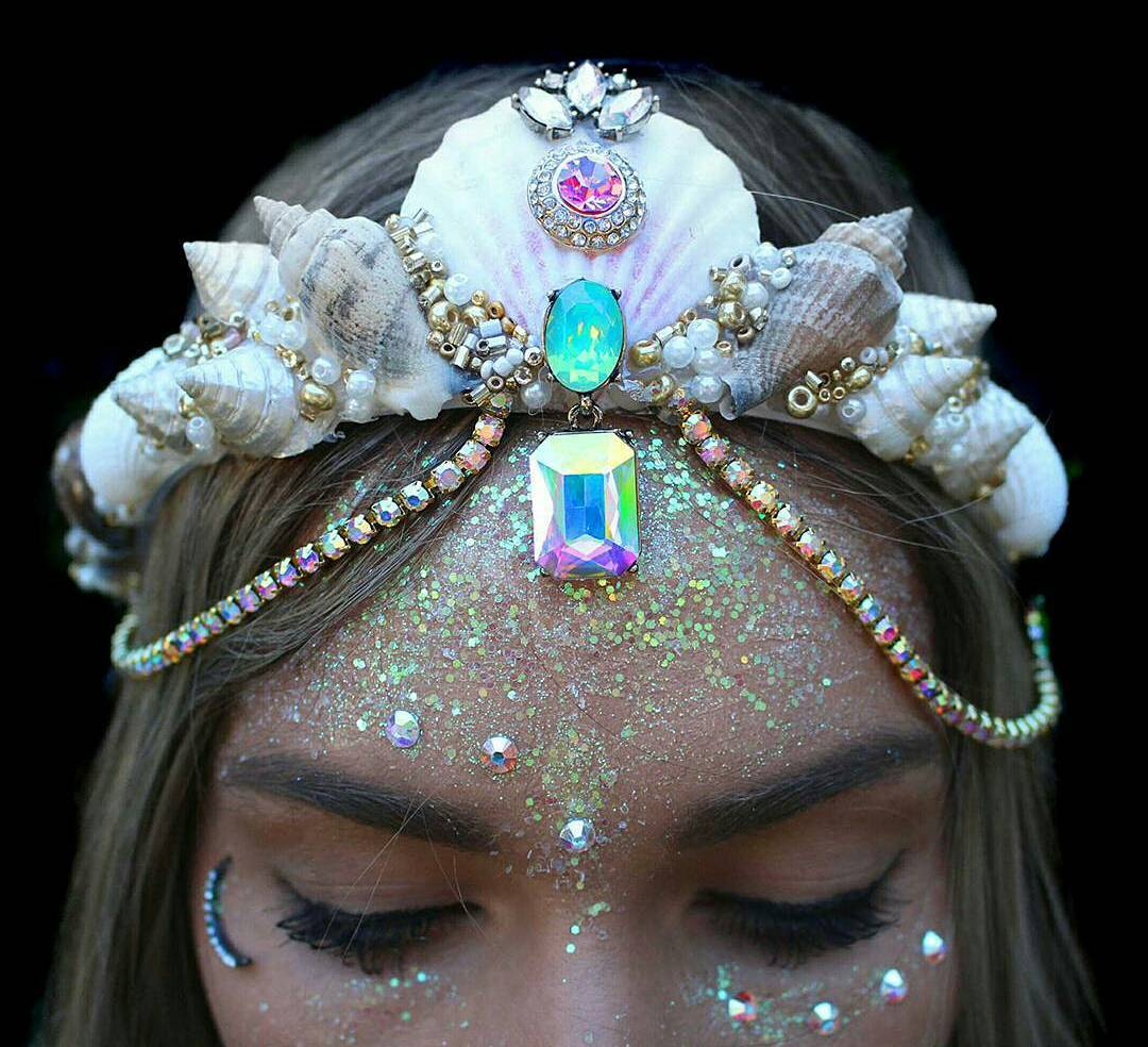 Culture N Lifestyle CNL New Dazzling Mermaid Crowns