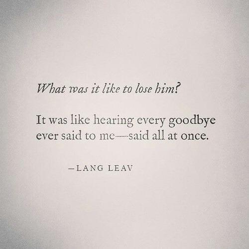 losing him quotes | Tumblr