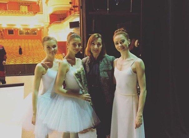 Photo via Natalia Filina's Instagram – Ballet