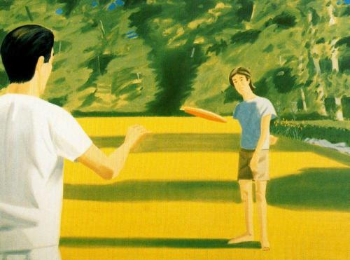 tumblr_ms7buw43fO1qfc4xho1_500 Alex Katz, Vincent Katz (with Frisbee) Contemporary