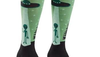 d6b776e67db I BELIEVE – Knee high socks – Socks it to m… – UFO