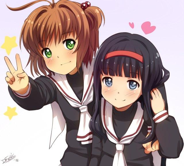 Image result for anime sakura y tomoyo