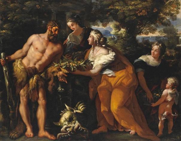 aphroditepandemos: Hercules In The Garden Of The Hesperides ...